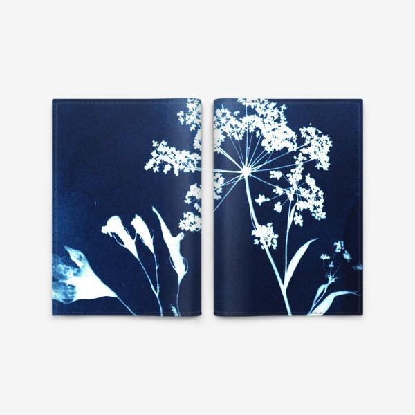 Обложка для паспорта «Сухие цветы »