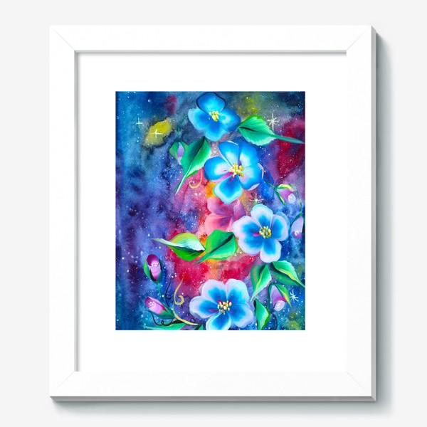 Картина «космо цветы»