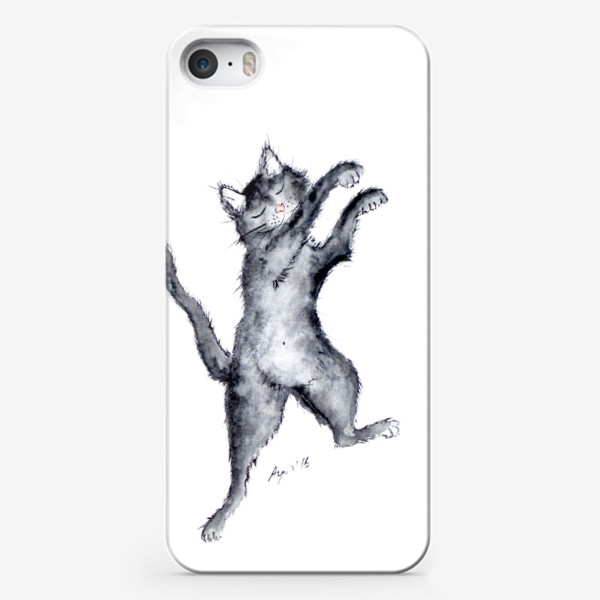 Чехол iPhone «Танцор. Чувствуй ритм...»
