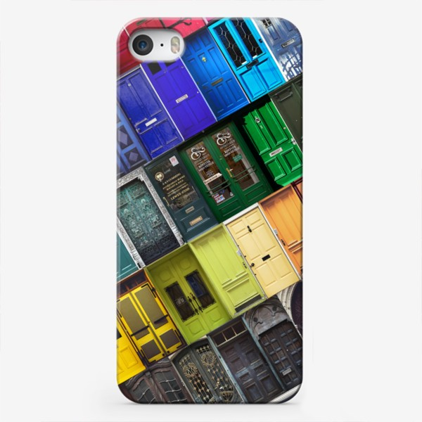 Чехол iPhone «Двери из разных стран»