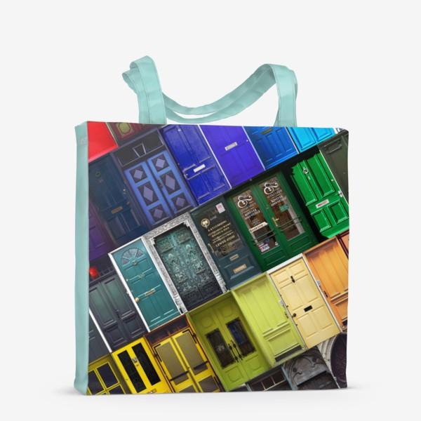 Сумка-шоппер «Двери из разных стран»