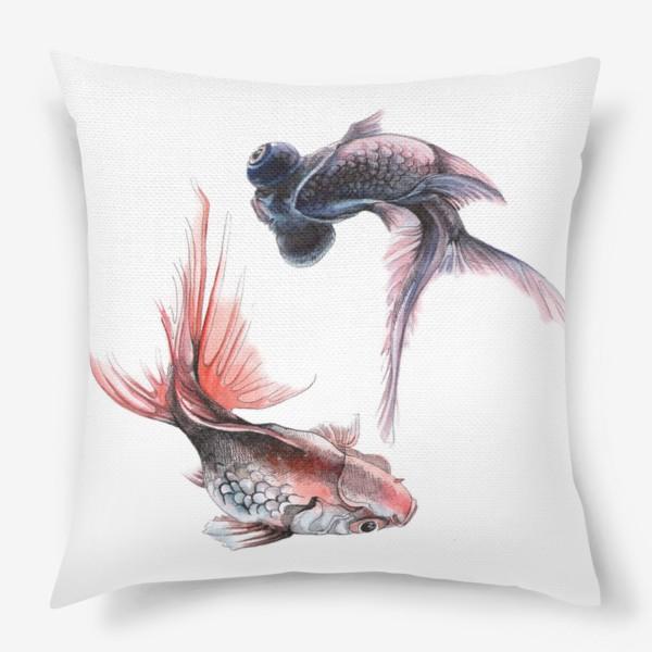 Подушка «Рыбки»