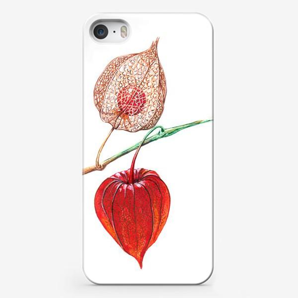 Чехол iPhone «Сердце физалиса»
