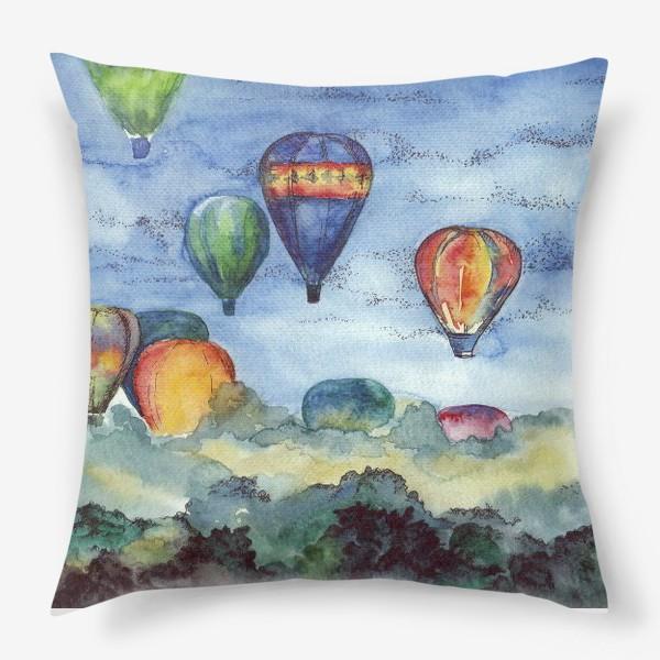 Подушка «Воздушные шары»