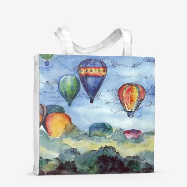 Сумка-шоппер «Воздушные шары»