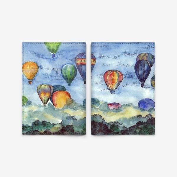 Обложка для паспорта «Воздушные шары»