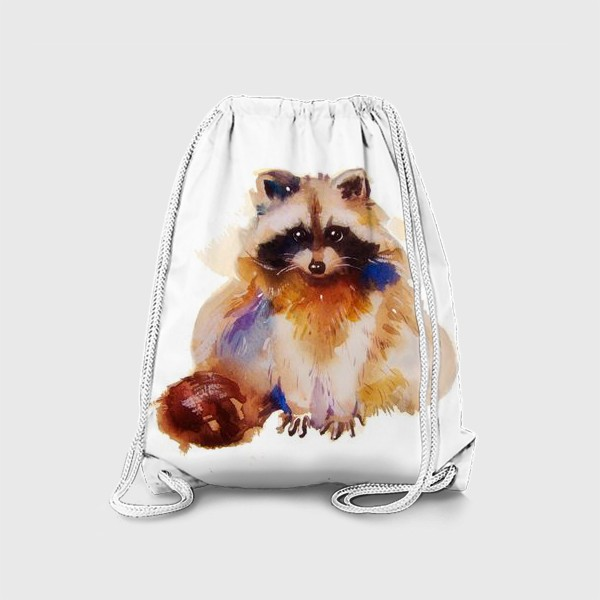 Рюкзак «Енот с хвостом»