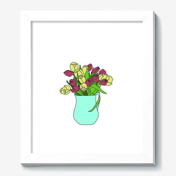 Картина «Тюльпаны в кувшине 2»