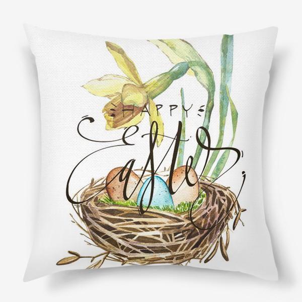 Подушка «Пасхальная открытка»