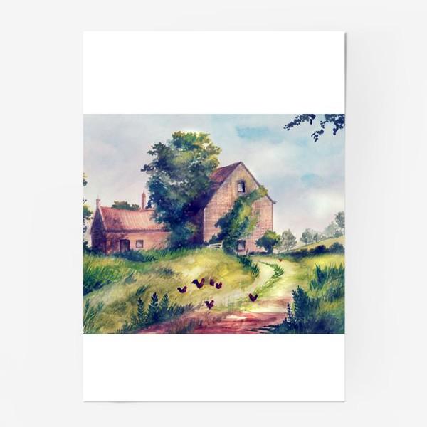 Постер «домик»