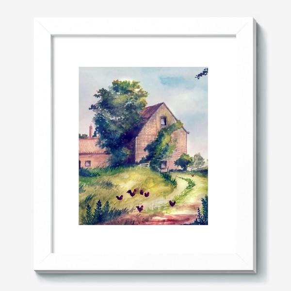 Картина «домик»