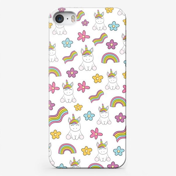 Чехол iPhone «Волшебный мир»