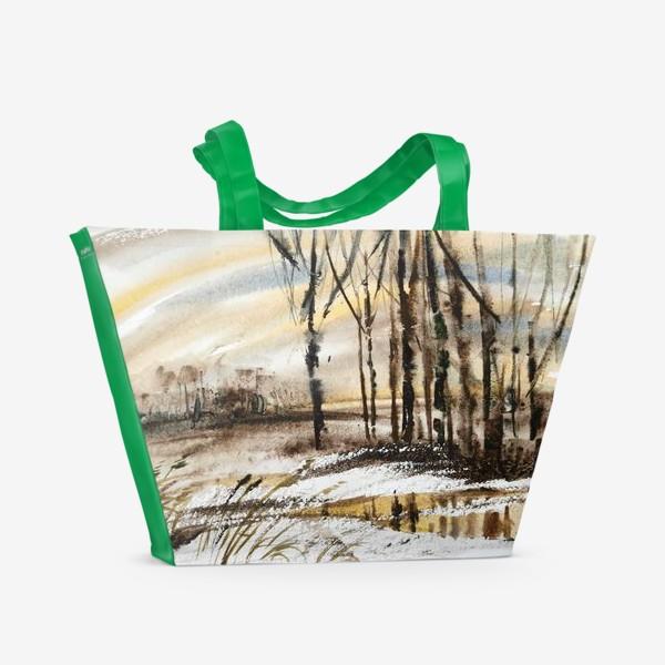 Пляжная сумка «Весенний этюд»