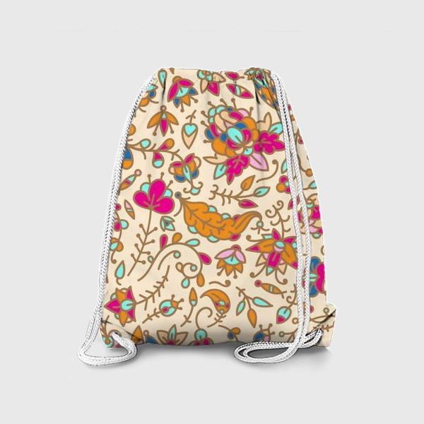 Рюкзак «Нежные цветы»