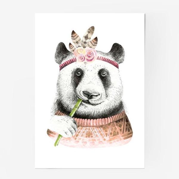 Постер «Я люблю панду»