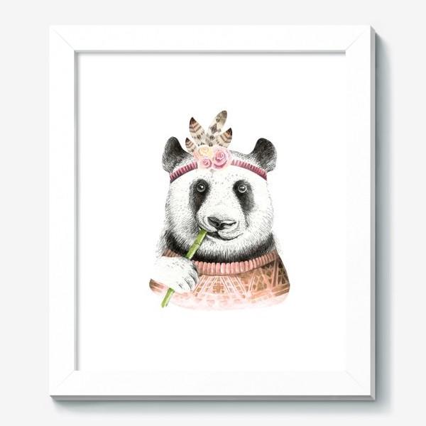 Картина «Я люблю панду»