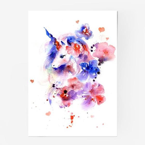 Постер «Единорог»
