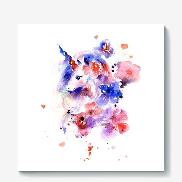 Холст «Единорог»