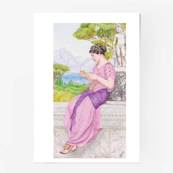 Постер «Акварельная репродукция Дж. Уил. Годварда»