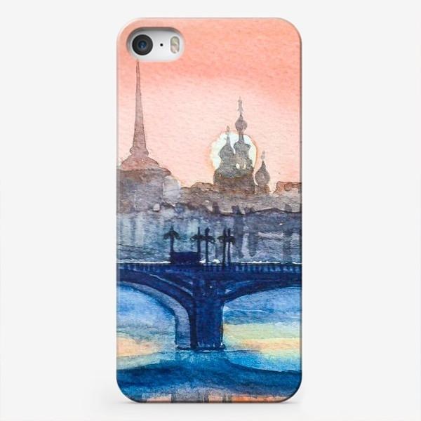 Чехол iPhone «Мосты Петербурга»