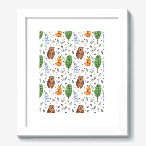 Картина «Мишка и друзья»