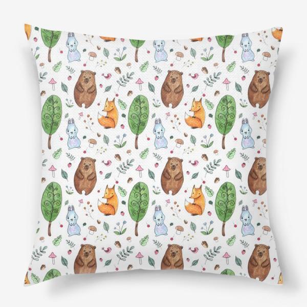 Подушка «Мишка и друзья»