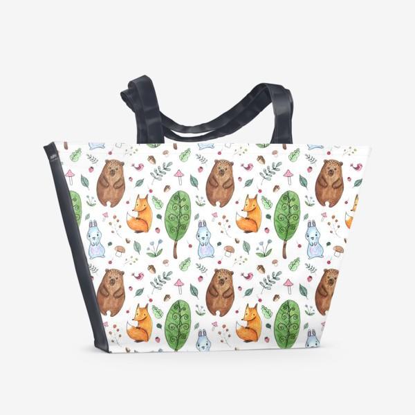 Пляжная сумка «Мишка и друзья»