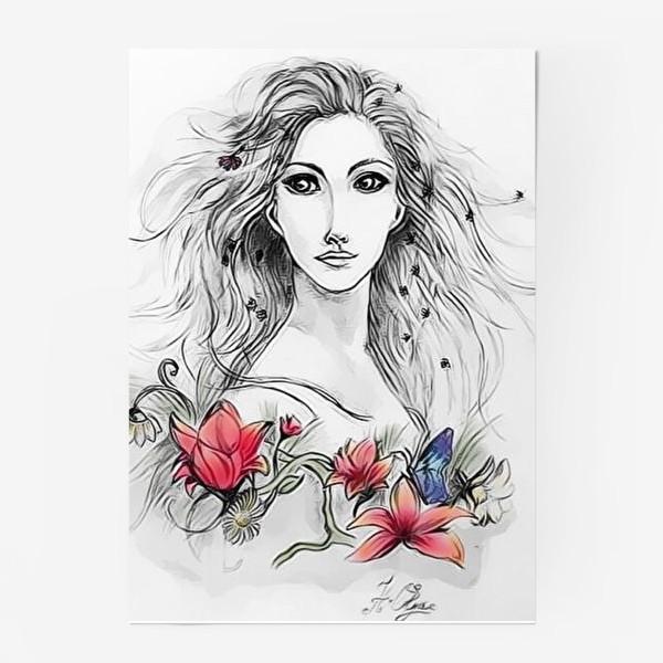 Постер «Девушка»