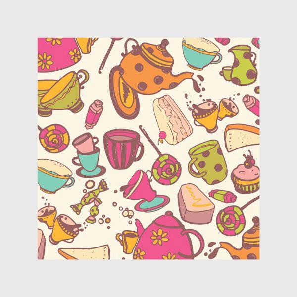 Скатерть «Безумное чаепитие»