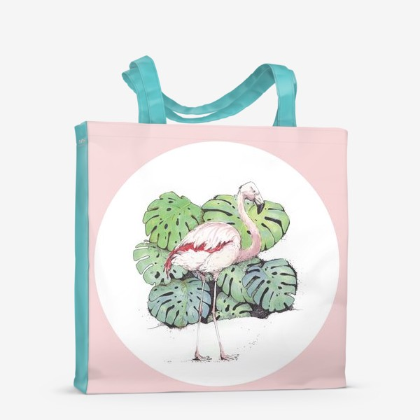 Сумка-шоппер «Фламинго»