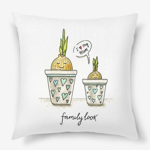 Подушка «FAMILY LOOK»