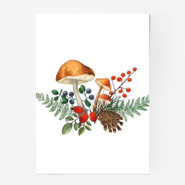 Постер «Лесная полянка»