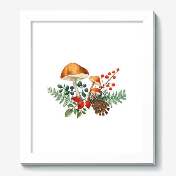 Картина «Лесная полянка»