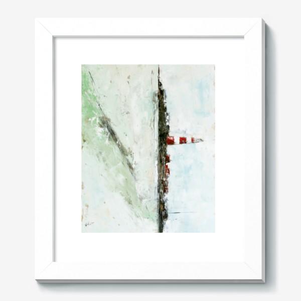 Картина «Абстрактный маяк»
