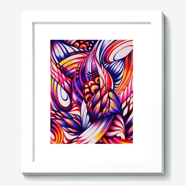 Картина «Зентангл, абстракция шариковыми ручками»