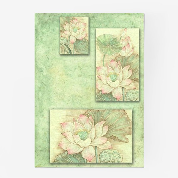 Постер «Pink lotus»