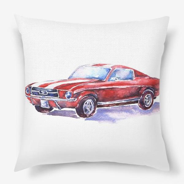 Подушка «Ford Mustang»