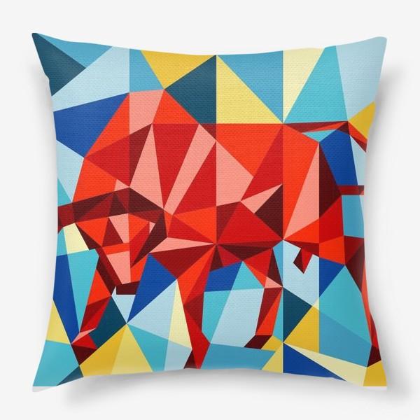 Подушка «Red Bull»