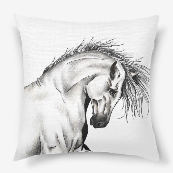 Подушка «Конь»