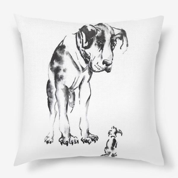 Подушка «Собаки»