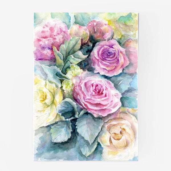 Постер «Море цветов.»
