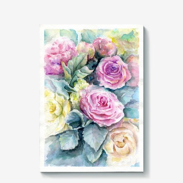 Холст «Море цветов.»