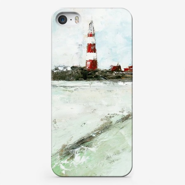 Чехол iPhone «Абстрактный маяк»