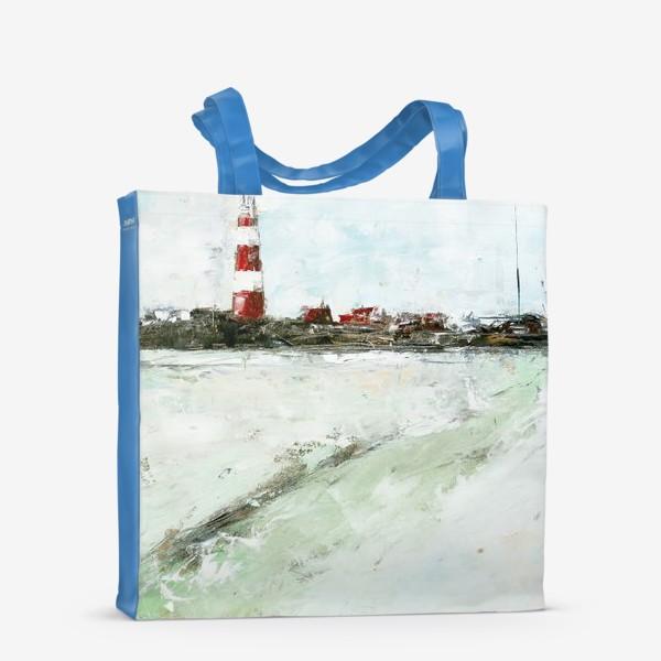 Сумка-шоппер «Абстрактный маяк»