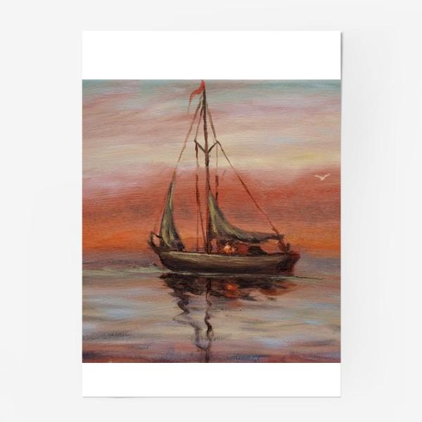 Постер «Яхта»