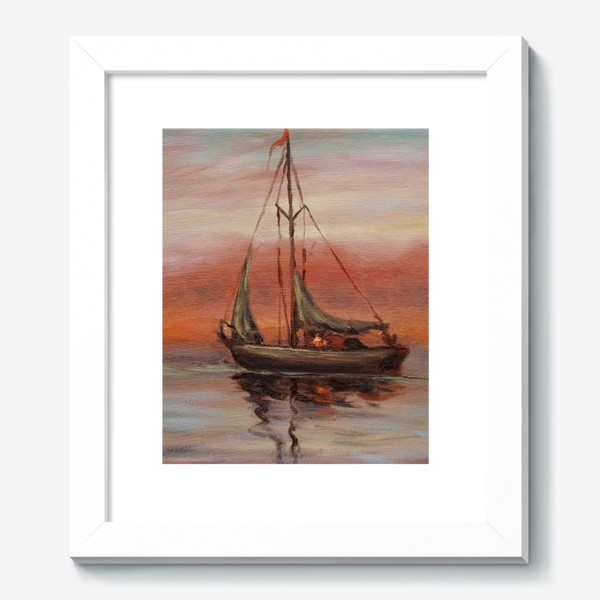 Картина «Яхта»