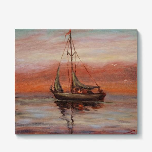 Холст «Яхта»