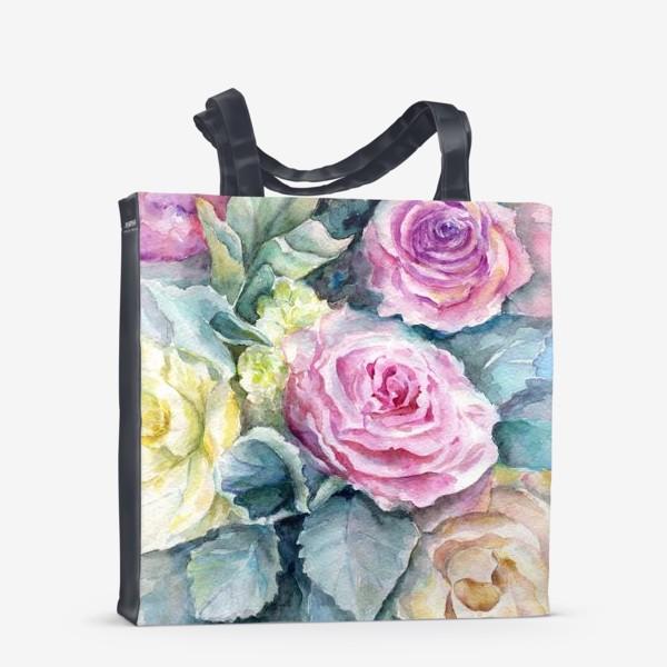 Сумка-шоппер «Море цветов.»