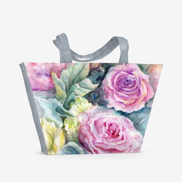 Пляжная сумка «Море цветов.»