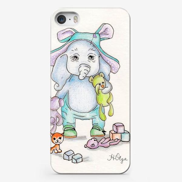 Чехол iPhone «Слоник»